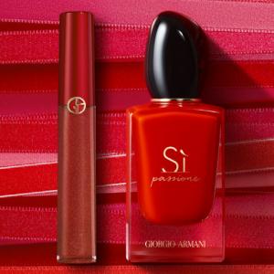 Giorgio Armani阿玛尼官网明星彩妆香水热卖 收红管唇釉 权力粉底液等
