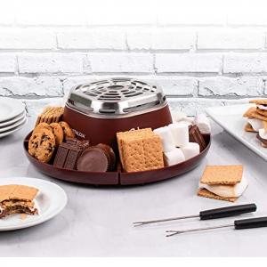 Nostalgia SMM200 室内甜品烧烤机, S'mores 制作机 @ Amazon