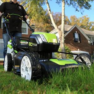 限今天:Greenworks 80伏庭院草坪护理工具一日特卖 @ Amazon