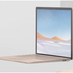 Amazon - Surface Laptop 3 触屏本 (i5-1035G7, 8GB, 128GB),直降$199.01